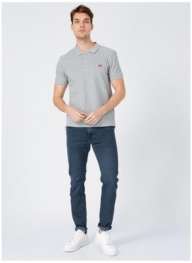 Levi's® Levis Erkek Gri Polo T-Shirt Gri